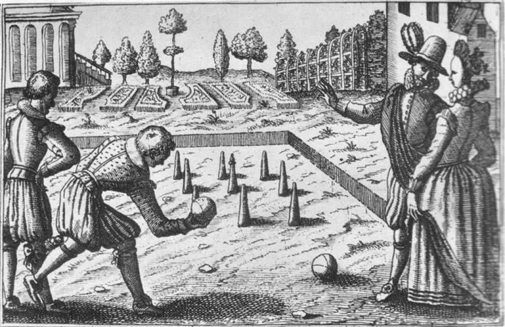 Games loving Elizabethans were the ancestors of today's pinball wizards