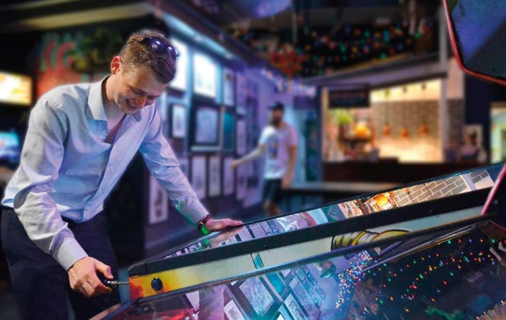 Pinball wizard, Jack Hutchinson Jnr, is a ranked player with the International Flipper Pinball Association (IFPA)