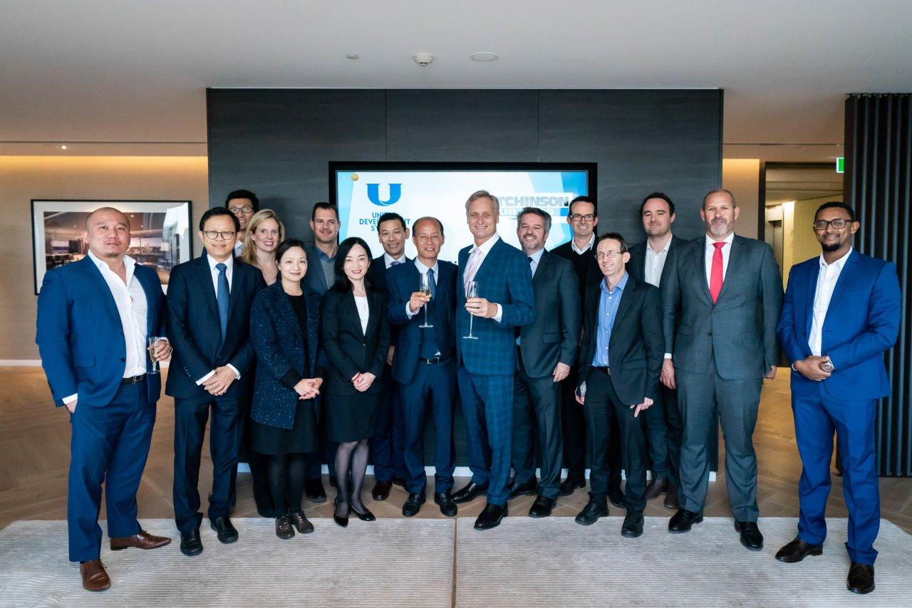 Contract Signing with United Development Sydney and Hutchies / June 2018