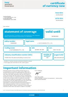 Workers' Compensation - NSW